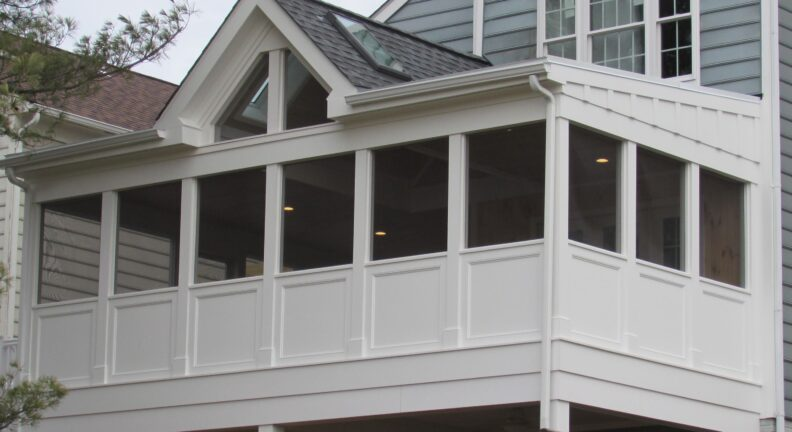Screened in porch in Gaithersburg Maryland